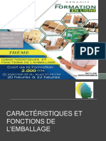 Caractéristique Et Fnction de l'Emballage 20190321