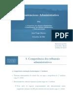 O Contencioso Administrativo INA 092016 Competfuncionamentomeios