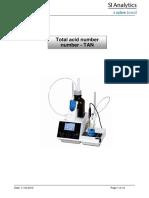 Total Acid Number TAN ASTM 664 365KB English PDF