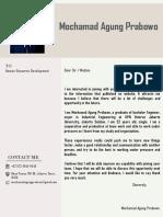 Cv Agung PDF