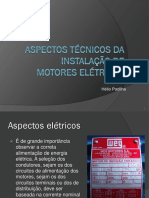 Instalação de Motores Elétricos