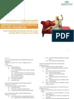 SEMINARIO - UN6 Ética y psicoanálisis