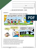 2º Simulado de Português - 4º Ano