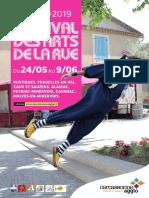 Programmation du festival des arts de la rue