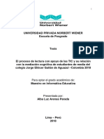 El proceso de lectura con apoyo de las TIC y su relación.pdf