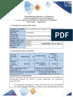 Guia de Actividades y Rubrica de Evaluacion - Post Tarea- Aplicacion