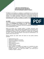 15. Modelo Politica Activos Fijos