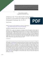 Analysis Horowitz Kreisleriana