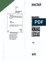 5Pesquisas Em Ciencias Humanas Sociais