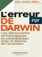L'Erreur de Darwin - Hans-Joachim Zillmer