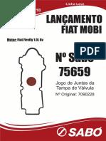 Caderninho Sabo 86 Bx1