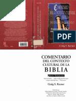 Comentario del Contexto Cultural de la Biblia N.T. Craig S. Kenner.pdf
