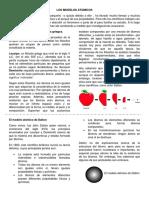 Texto Para Alumnos Modelos Atomicos.