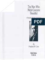 The Man Who Made Concrete Beautiful - A Biography of John Joseph Early,  Cron, Frederick (1977