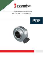 Ventilator in-line Circular de Tubulatura - REVENTON - FR-DF
