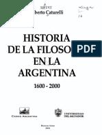 ALBERTO CATURELLI - Historia de la Filosofia en La Argentina Indice.pdf