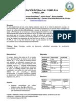QM 344 Informe 2