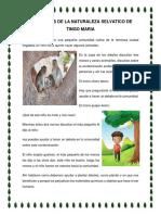 Los Heroes de La Naturaleza Selvatico de Tingo Maria
