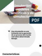 Simulación_ Modelos Analíticos y de Simulación