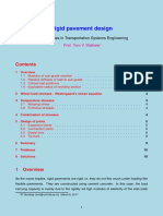 Rigid Pavement Design
