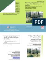 Tecnologia en Desarrollo Para El Manejo Silvopastoril en El Chaco Humedo Argentino