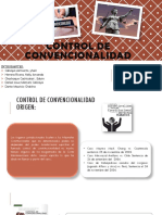 Control Convencional - Derecho Procesal Constitucional