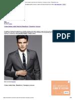Cómo Deben Vestir Bien Los Hombres _ Consejos y Trucos - Modaellos.com