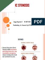 Aortic Stenosis Refarat