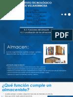 unidad 6 gestión  de la producción, 6.1 y 6.2