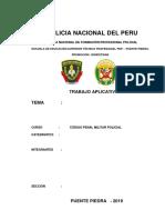 REBELIÓN, MOTÍN, FALSA ALARMA, INFIDENCIA, SEDICIÓN.docx