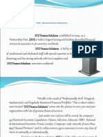 XYZ Financials Profile.ppt