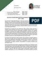 Informe Ejecutivo de PAI_PROURE 2017-2022