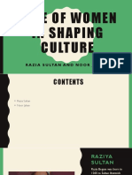 Role of Women in Shaping Culture