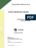 EEM Bid Proposal - Undone