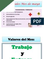 Efermerides Del Mes de Mayo (1)