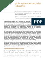 El liderazgo del equipo directivo en las instituciones educativas.pdf