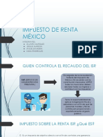 Impuesto de Renta Mexico