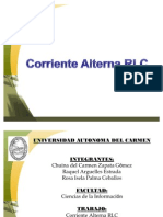 Exposicon Corriente Alterna RLC