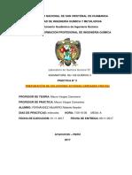 Informe 1 Quimica General 2