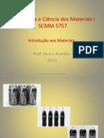 Aula 1 Introdução a Ciência e Engenharia Dos Materiais
