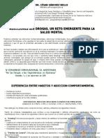 Dr. Cesar Sanchez Bello - ADICCIONES SIN DROGAS. UN RETO EMERGENTE PARA LA SALUD MENTAL.pdf