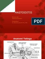mastoiditis