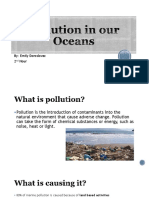 pollution in our oceans