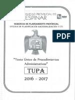 Texto Único de Procedimientos Administrativos 2016 - 2017.pdf
