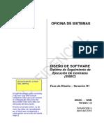 SISEC - Documento Diseño Del Sistema v.1