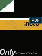 Catalogo de herramientas Ingco.