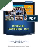 INFORME DE GESTIÓN 2015-2018  UGEL SULLANA.pdf
