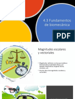 4.3 Fundamentos de biomecánica