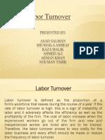 Labor Turnover