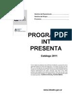 Int Presenta Formula Rio 2011
